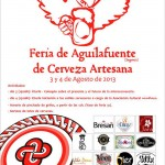 Cartel Feria Cerveza Artesana Aguilafuente